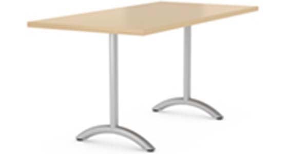 Arch t-base with rectangle top